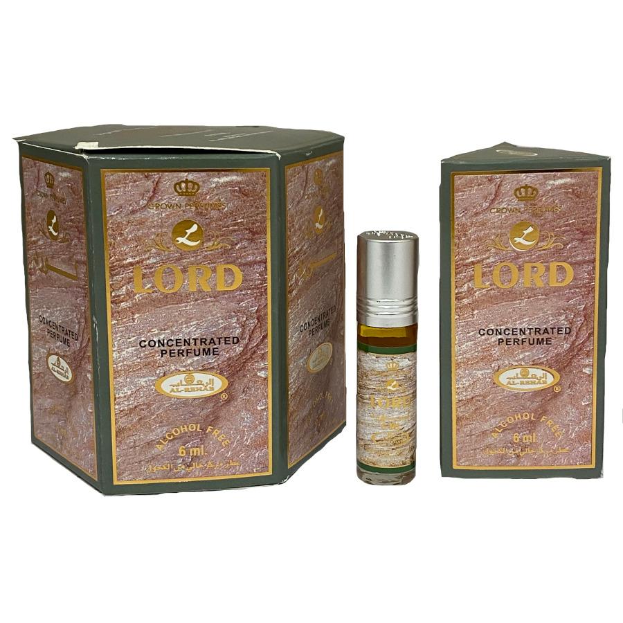 Lord Perfume Oil 6ml by Al Rehab