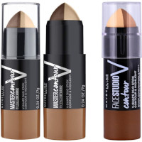 Maybelline Master Contour & Highlight V Duo Stick (12pcs) (Assorted) (£2.50/each) R/59