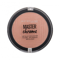 Maybelline Master Chrome Metallic Highlighter - 050 Molton Rose Gold (3pcs) (£1.25/each) (0961) R/120