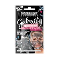 Eveline Galaxity Glitter Black Actively Purifying Mask (12pcs) (£0.60/each) (1185) EVE/80