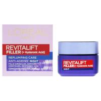 L'Oreal Revitalift Filler Replumping Care Anti-Ageing Night Cream - 50ml (PC1303)