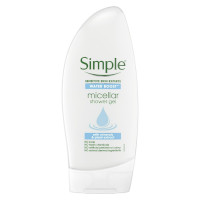 Simple Water Boost Micellar Shower Gel - 250ml (Options) (From £1.00/each)