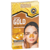 Beauty Formulas Purifying Gold Nose Pore Strips - 6 Strips (3000) BF/73