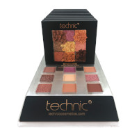 Technic Pressed Pigments Eyeshadow Palette - Bewitched (10pcs) (20511) (£1.45/each) B/29A