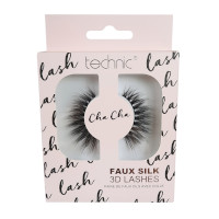 Technic Faux Silk 3D Lashes - Cha Cha (6pcs) (20526) (£1.42/each) D10