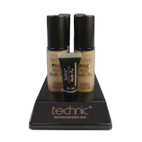 Technic Pro Finish Matte Fix Foundation - Porcelain (10pcs) (20721) (£1.45/each)  C40 A