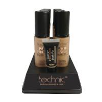 Technic Pro Finish Matte Fix Foundation - Beige (10pcs) (20723) (£1.45/each)