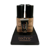 Technic Pro Finish Matte Fix Foundation - Honey (10pcs) (20724) (£1.45/each)