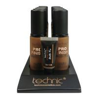 Technic Pro Finish Matte Fix Foundation - Chestnut (10pcs) (20725) (£1.45/each)