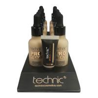 Technic Pro Glow Foundation - Porcelain (10pcs) (20727) (£1.45/each)