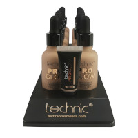 Technic Pro Glow Foundation - Beige (10pcs) (20729) (£1.45/each)