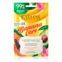 Eveline Food For Hair Banana Care Color Protection & Nourishment Hair Mask (6pcs) (£0.55/each) (2512) EVE/90