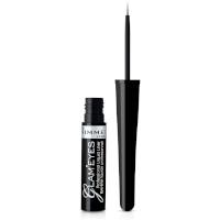 Rimmel Glam'Eyes Liquid Eyeliner - 001 Black Glamour (3pcs) (£1.50/each) (0109)