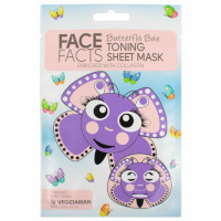 Face Facts Butterfly Bae Toning Sheet Mask - 20ml (2653) (22646-150) FF/23