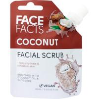 Face Facts Coconut Facial Scrub - 60ml (2844) (22844-150) FF/16