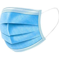 Personal Protective Equipment - Blue Disposable Daily Protective Mask (50pcs) (£0.20/each)