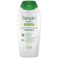 Simple Kind To Hair Gentle Cleansing Shampoo - 400ml (Options) (From £1.25/each)
