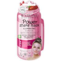 Eveline Power Shake Illuminating Bio Mask With Probiotics (12pcs) (£0.85/each) (5054) EVE/61