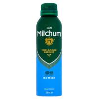 Mitchum Mens Ice Fresh Triple Odor Defense Deodorant - 200ml (6pcs) (£1.25/each) (MM8812) / HAIR CARE 68