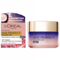 L'Oreal Age Perfect Golden Age Reactivating Cooling Night Cream - 50ml (KK2641)