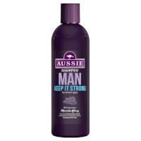 Aussie Man Keep It Strong Shampoo - 300ml (6pcs) (£1.75/each) (MM2206) AU/01