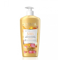 Eveline Botanic Expert 5 Precious Oils Ultra-Nourishing Body Oil In Lotion - 350ml (9391) EVE/33