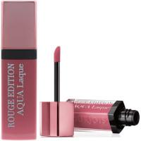 Bourjois Rouge Edition Aqua Laque Lipstick - 02 Rose on the Rocks (3pcs) (4202) (£0.50/each)