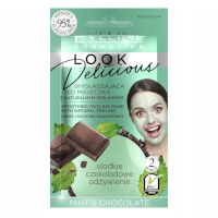 Eveline Looks Delicious Mint & Chocolate Smoothing Face Bio Mask (12pcs) (£0.50/each) (7591) EVE/74