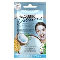 Eveline Looks Delicious Coconut & Mango Moisturizing Face Bio Mask (12pcs) (£0.50/each) (7638) EVE/63