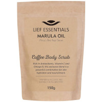 Lief Essentials Marula Oil Coffee Body Scrub - 150g (3289) / HAIR CARE 82