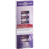 L'Oreal Revitalift Filler+Hyaluronic Acid 7 Days Cure Replumping Ampoules Set - 7x1.3ml (3982)