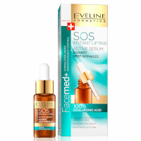 Eveline Facemed+ SOS Instant Lifting 100% Hyaluronic Acid Active Serum - 18ml (4446) EVE/24
