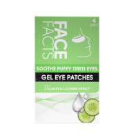 Face Facts Soothe Puffy Tired Eyes Gel Eye Patches - 4 Pairs (2138) (82138-150) FF/44