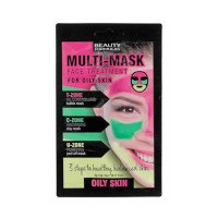Beauty Formulas Multi-Mask Face Treatment For Oily Skin (3130) BF/86
