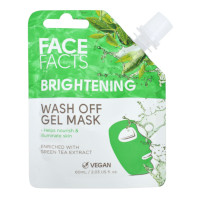 Face Facts Brightening Wash Off Gel Mask - 60ml (8502) (18502-150) FF/01