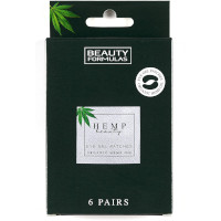 Beauty Formulas Organic Hemp Eye Gel Patches - 6 Pairs (3161) BF/72