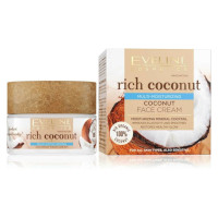 Eveline Rich Coconut Multi-Moisturizing Coconut Face Cream - 50ml (9441) EVE/49