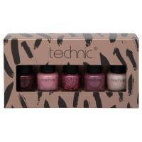 Technic 5pc Nail Varnish Collection Set (991210) (2101) CH13
