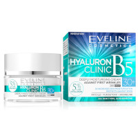 Eveline Hyaluron Clinic B5 30+ Deeply Moisturising Day & Night Cream - 50ml (9942) EVE/55