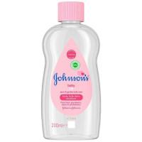 Johnson's Baby Oil - 200ml (6pcs) (£0.92/each) (3834)