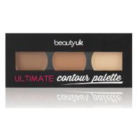 Beauty UK Ultimate Contour Palette (3pcs) (£0.60/each) (BE2168/1)