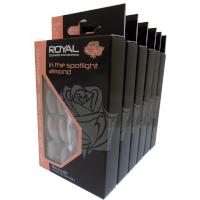 Royal 24 Glue-On Nail Tips - In The Spotlight Almond (6pcs) (NNAI297) (£1.23/each) ROYAL 62