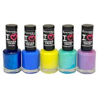 Rimmel I Love Lasting Finish Nail Polish (24pcs) (Assorted) (£0.65/each)  R633