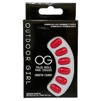 Outdoor Girl False Nails - Drama Queen (6pcs) (ODGFNDQ) (£0.75/each)