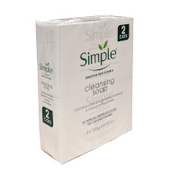 Simple Cleansing Soap - 2 Bars (2 x 125g) (3220) SIMPLE/36