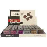London Girl Glitter Eye Shadow (48pcs) (0997) (Options) (£0.40/each)