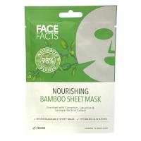 Face Facts 98% Natural Bamboo Sheet Mask - 1 Mask (3261) (23261-150) FF/24a