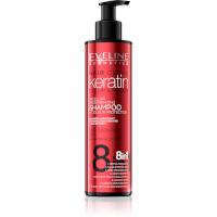 Eveline Keratin 8in1 Color & Repair Micellar Regenerating Shampoo - 245ml (9049) EVE/35