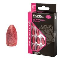 Royal 24 Glue-On Nail Tips - All That Jazz Stiletto (6pcs) (NNAI332) (£1.23/each) ROYAL/159