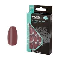 Royal 24 Glue-On Nail Tips - Instant Crush Coffin (6pcs) (NNAI336) (£1.23/each) ROYAL 142